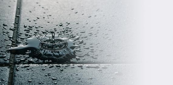 kapanie wody nakafelki