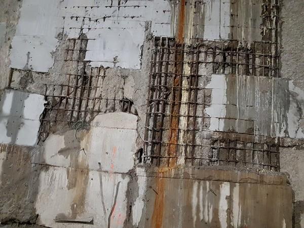 zawilgocenie i nieszczelny beton