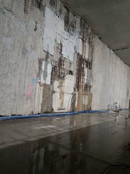 zacieki na ścianach